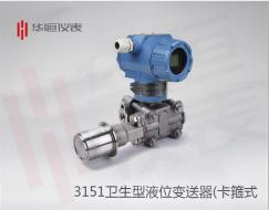 3151智能型液位变送器:工业级压力变送器系统原理和典型架构